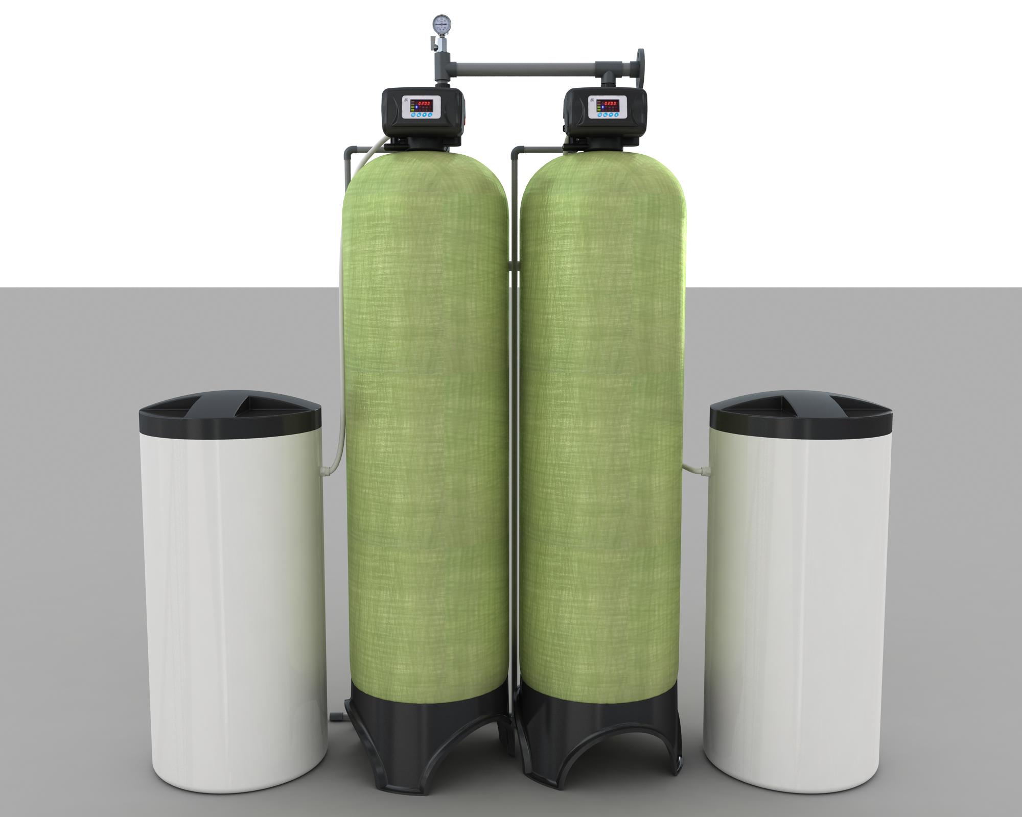 5吨双阀双罐软化系统