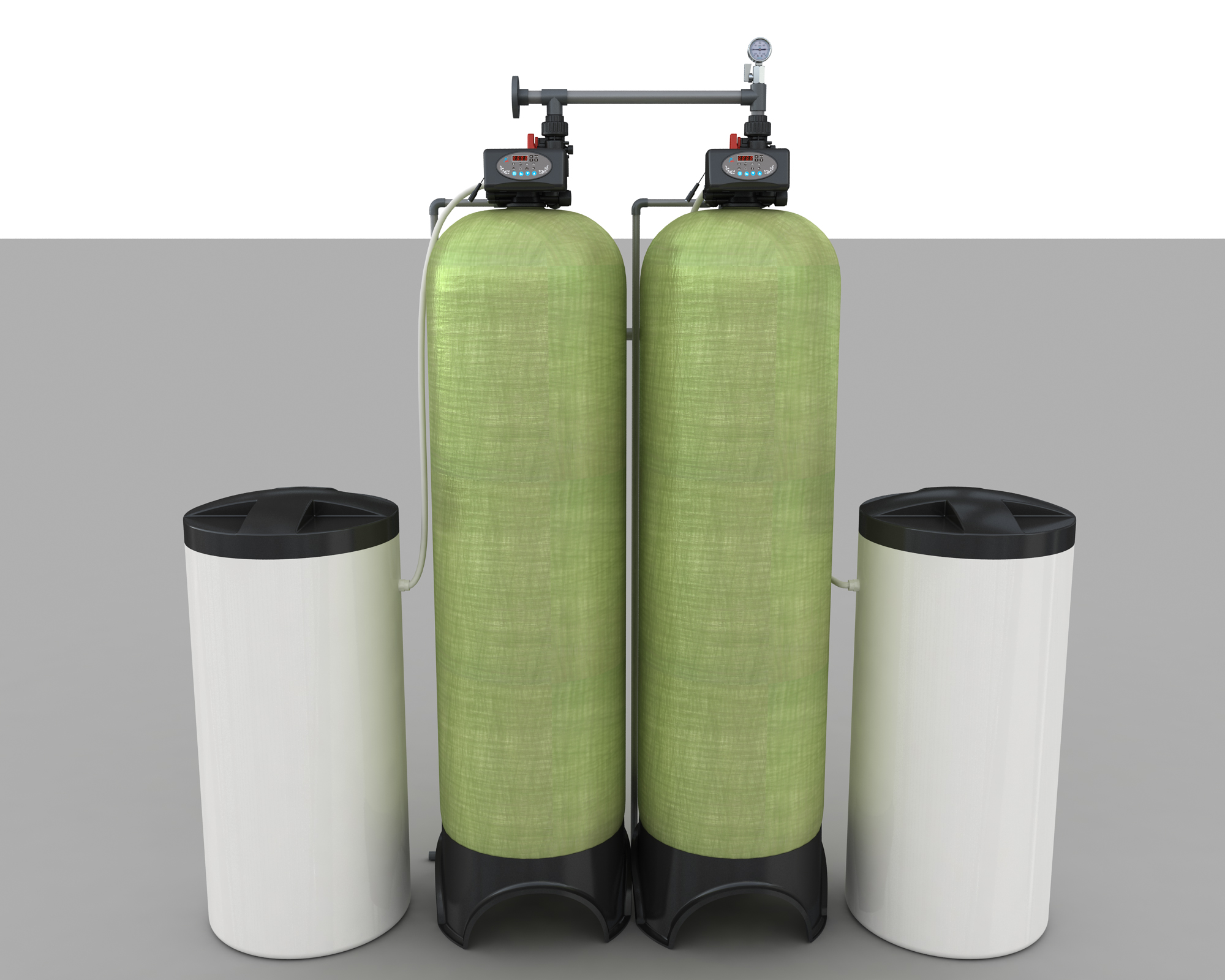 Softening System of Two-ton Double Valve Double Tank