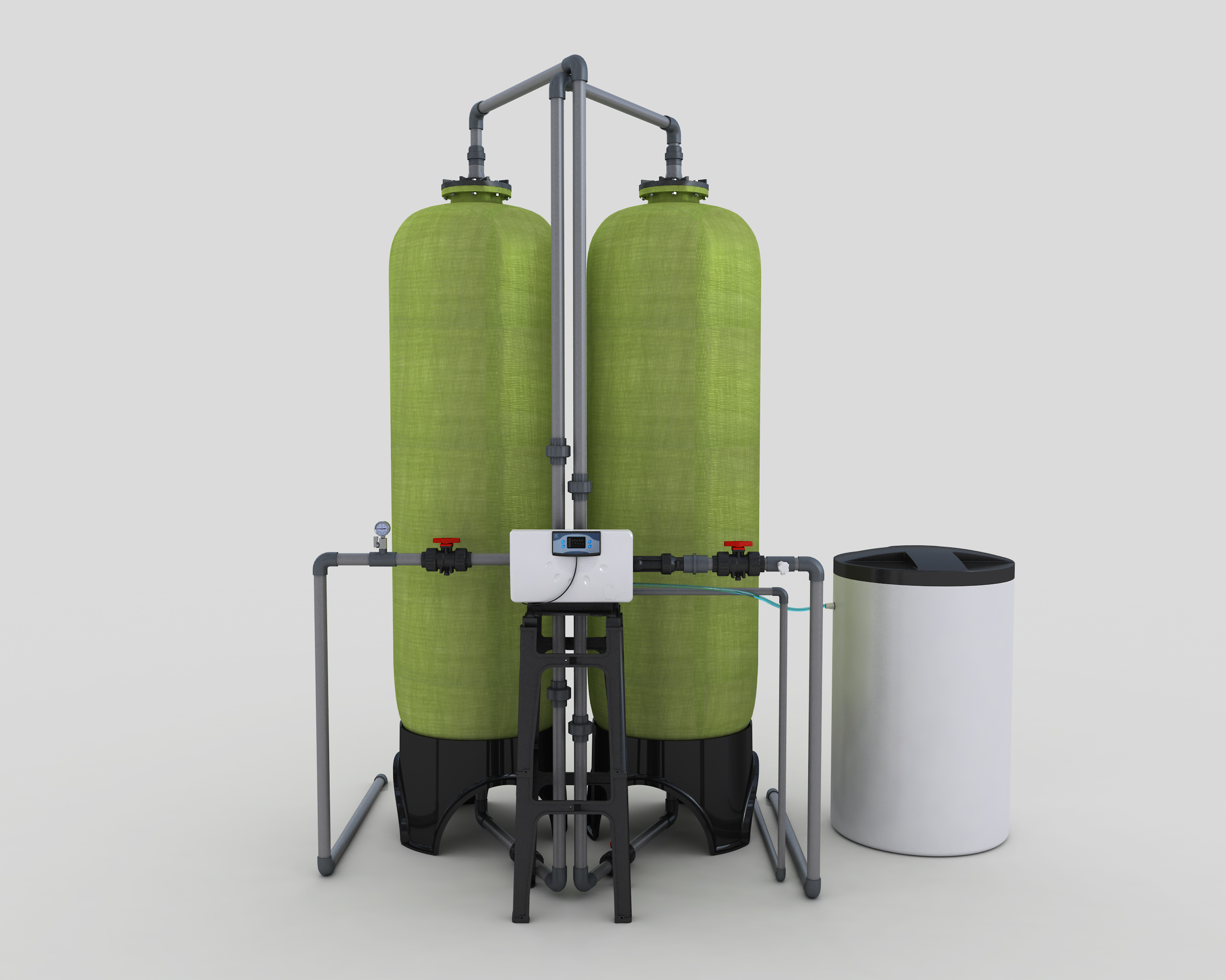Softening System of 10t Single Valve Double Tank